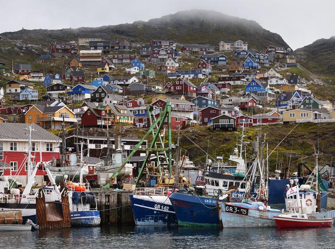 Greenland, Nuuk w